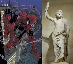 Zeus and Spiderman